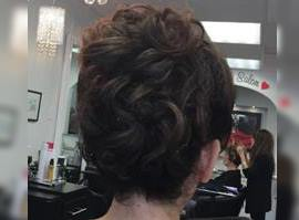 Formal Stylish Hair Up-Do